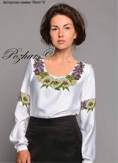 Gallery.ru / Фото #1 - Авторские схеммы для вышивки на одежде - maila86