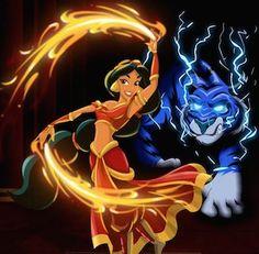 Robby Cook, un artista de 2D y animador, creó una serie de imágenes que mezcla la princesas Disney con Avatar.