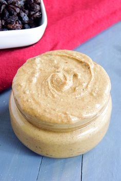 Cinnamon Raisin Peanut Butter - This is the BEST peanut butter! I can't stop eating it!!