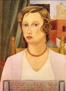 Retrato de la Sra. Jean Wight, 1931.