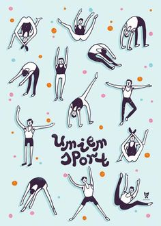 Umiem sport II - wall-being Workout Posters, My Room, Motto, Sports, Fictional Characters, Illustrations, Fitness, Projects, Life