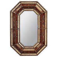 Peru Octagonal Mediterranean Home Decor Andes Mountains Antique Mirrors Santa Lucia