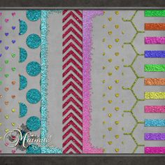 Sugar Dose Glitter Overlays by DaydreamersDesigns