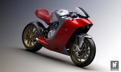 The much hyped MV Agusta broke cover today – much to our surprise, ahead of its scheduled September debut. The bike is a collaboration between MV Agusta and Milan-based design house Zagato, using the four-cylinder MV Agusta superbike as its platform. Mv Agusta, Motorcycle News, Motorcycle Design, Bike News, Concept Motorcycles, Cars And Motorcycles, Super Bikes, Ducati, Motos Retro