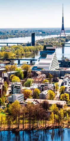 The largest of the Baltic capitals, Riga is included in the UNESCO World Cultural and Natural Heritage list #Latvia