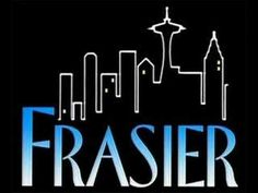 """""""Hello Seattle, I'm listening!"""" – Frasier is an American sitcom that was broadcast on NBC for 11 seasons, premiering on September and concluding on May Frasier hosts The Dr. Frasier Crane Show, a call-in psychiatry show on talk radio station KACL. Great Tv Shows, Old Tv Shows, Movies And Tv Shows, Tv Theme Songs, Theme Tunes, Frasier Crane, Niles Crane, Kelsey Grammer, Show Logo"""