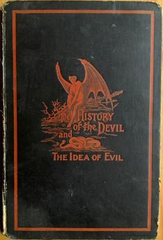 Covers (329): The History of the Devil and the Idea of Evil