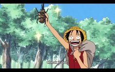 One Piece - Arc Jaya - Luffy - Dynastes hercules