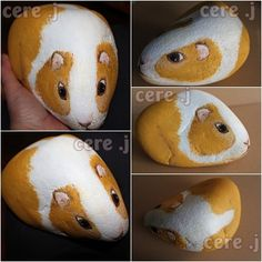 Album - galets Pebble Painting, Pebble Art, Stone Painting, Painted Rock Animals, Painted Rocks, Totoro, Diy And Crafts, Arts And Crafts, Pet Rocks