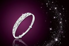 instead of (from Philip Jones) for a star bracelet - choose from 2 colours and save Bangles, Bracelets, Bracelet Making, Body Care, Swarovski, Charmed, Sky, Crystals, Detail