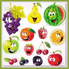 34 Mejores Imágenes De Frutas Y Verduras Con Caritas En 2019