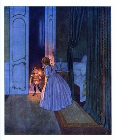 E. T. A. Hoffmann´s The Nutcracker and the Mouse King, Illustrared by Artuš Scheiner. Published in 1924 in Prague.
