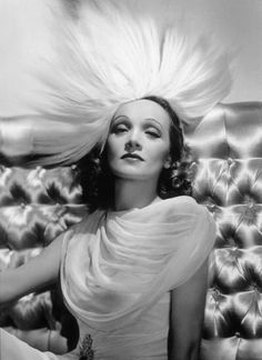 1937. Actress Marlene Dietrich. Photo by George Hurrell (B1904-D1992)