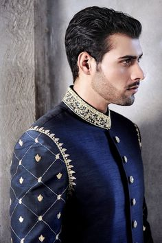 Soma Sengupta Fashion for the Indian Man- Tailored, Detailed Royal Blue!