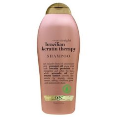 OGX Ever Straight Brazilian Keratin Therapy Shampoo  3PC *** More info could be found at the image url.(This is an Amazon affiliate link and I receive a commission for the sales)