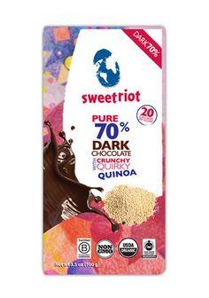 riotBar 70% Quirky Quinoa (12 pack)