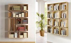 Pomysł na półki w mieszkaniu