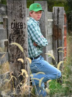 from his senior photo session