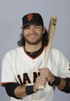 This is a 2015 photo of Brandon Crawford of the San Francisco Giants baseball team.