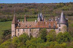Château de La Rochepot. Bourgogne.   por dprezat