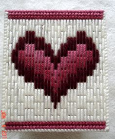 Valentine Heart Tissue Box Cover