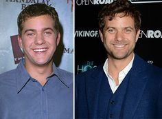 Joshua Jackson Then: Oh, Pacey! Who could forget Joshua Jackson on-screen opposite Michelle Williams and Katie Holmes in 'Dawson's Creek'?<.br> Now:This is one guy who has definitely improved with age! Jackson is now the long-term arm candy of style icon Diane Kruger.