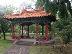1000 images about pergolas structure on pinterest asian for Japanese pergola kits
