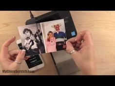 How to use the Canon Selphy Printer for Project Life by Stampin' UP! - YouTube Pocket Page Scrapbooking, Scrapbook Pages, Scrapbooking Ideas, Smash Book Planner, Canon Selphy, Things To Do At Home, Photo Printer, Computer Technology, Project Life