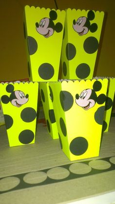 Cotuferas mickey mouse