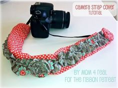 Camera Strap Cover Tutorial