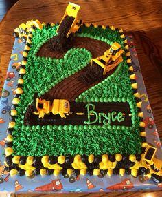 Best Ideas for birthday cake boys dump trucks Construction Birthday Parties, 2nd Birthday Parties, Birthday Fun, 2nd Birthday Cake Boy, Construction Cupcakes, Construction Theme, Birthday Ideas, Torta Blaze, Tractor Birthday Cakes