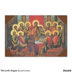 The Lord's Supper Tissue Paper