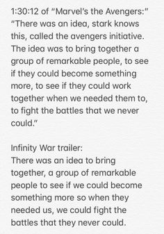 FIRST AVENGERS MOVIE VS INFINITY WAR TRAILER IVE NEVER REALIZED THIS