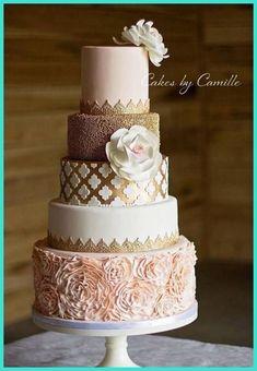 Wedding Cakes - Wedding Cakes - Ideas and Tips #WeddingCakes