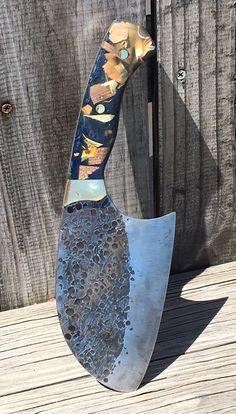 Easy DIY Big Cleaver knife making. FREE step by step instructions. www.DIYeasycrafts.com