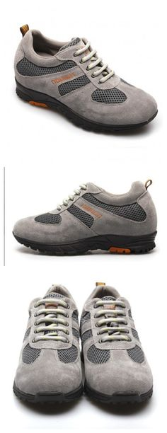 Hot Sale Sport Style Women Casual Comfortable Elevator Shoes with Lifts 6.5CM  Increased Height: 6.5cm(2.56 inch)(Totally invisible)  Upper Material: Cow Leather  Lining Material: Pigskin Leather  Outsole Material: Rubber  Insole Material: PU  Occasion: Daily Casual  Shown Color: Grey  Style: Sport  Season: Spring,Summer,Autumn,Winter  Brand: Hesion  Function: Height Increasing  Gender: Woman