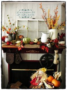 A Southern Belle with Northern Roots/Junkflirt: The Fall Post 2013- The easy way.