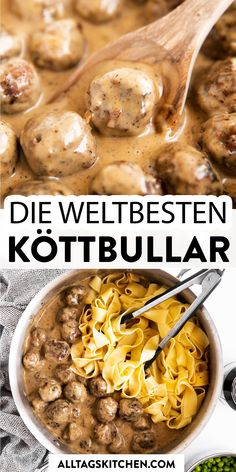 Easy Dinner Recipes, Easy Meals, Dinner Ideas, Dessert Recipes, Swedish Meatball Recipes, Beef Recipes, Slow Cooker Recipes, Good Food, Yummy Food