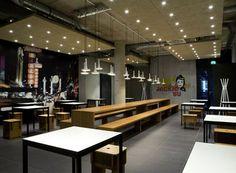 Urban street kitchen interior design ideas