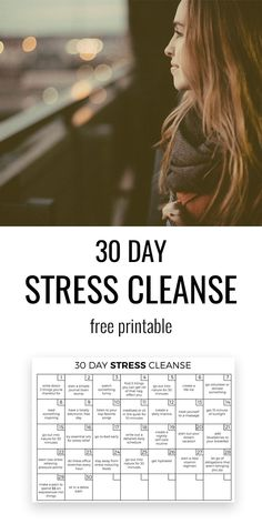 Day Stress Away Challenge 30 Day Stress Cleanse. A simple and powerful way to slowly destress yourself and feel fresh and Day Stress Cleanse. A simple and powerful way to slowly destress yourself and feel fresh and free. Stress Less, Stress And Anxiety, Work Stress, Anxiety Help, Reduce Stress, Yoga Routine, Yoga Meditation, Yoga Inspiration, Stress