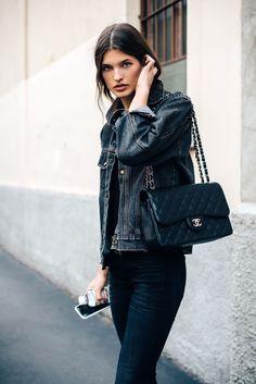 SS17 Milan Fashion Week Street Style - September 2016