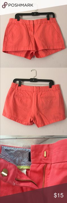 Chino shorts Pink, only worn twice J. Crew Shorts