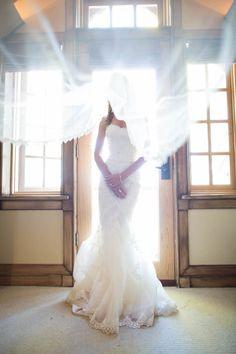 Featured photographer: Sallee Photography; wedding dress idea