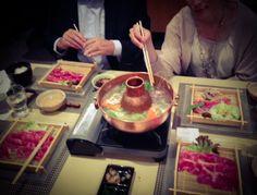 "KAMAKURA, Luxembourg Le premier restaurant japonais au Luxembourg dirigé par Hajime Miyamae ""The Winner of Minister's Awards for Overseas.  Shabu Shabu - Fondue Japonaise - Favorite Dish"