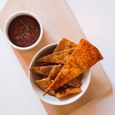 YUM you can make the best chips from leftover tortilla. Wasted food taste so good