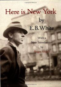 """Perceptive, funny, and nostalgic, E.B. White's stroll around Manhattan remains the quintessential love letter to the city, written by one of America's foremost literary figures.   The New York Times has named Here is New York one of the ten best books ever written about the metropolis, and The New Yorker calls it """"the wittiest essay, and one of the most perceptive, ever done on the city"""