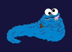 """GIVE ME COOKIE, SOLO"" - Cookie the Hutt ~The Honorable T-Rex~"