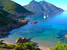 Les plus belles plages de Corse – Girolata The most beautiful beaches of Corsica – Girolata Paris Travel, France Travel, Most Beautiful Beaches, Beautiful Places, Places To Travel, Places To See, Nature Beach, Beach Trip, Beautiful Landscapes