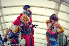 Final Fantasy X Cosplay - Tidus, Auron and Yuna by ~LeonChiroCosplayArt on deviantART