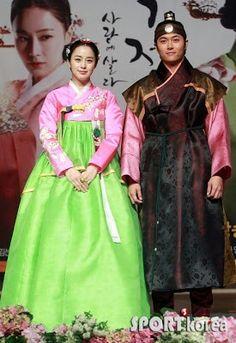 한복 Hanbok Jang Ok Jung kdrama